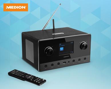 Medion WLAN Internetradio mit 2.1 Sound System