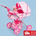 Hofer 3.12.2018: Puppenwagen mit Zubehör im Angebot
