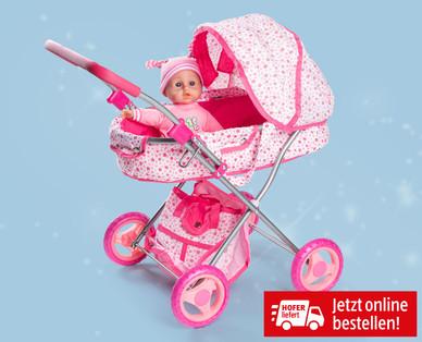 Puppenwagen mit Zubehör