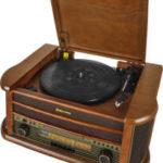 Roadstar Retro-Stereo-Anlage mit Plattenspieler HIF-1899NTUMPK bei Kaufland 23.5.2019 - KW 21