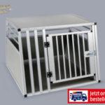 Romeo Excellence Hundetransportbox aus Aluminium im Angebot bei Hofer 7.1.2019 - KW 2