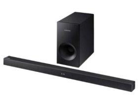 Samsung HW-K335/ZG 2.1 Bluetooth-Soundbar im Angebot bei Real 16.3.2020 - KW 12