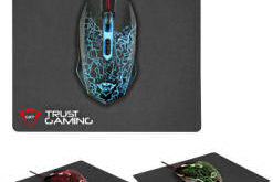 Trust GXT 783 Gaming-Mouse mit Pad