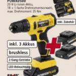 Real 29.6.2020: Varo Akku-Bohrschrauber POWX0500 im Angebot