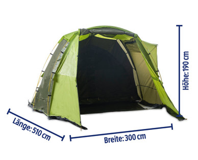Adventuridge 4 Personen Großraumzelt