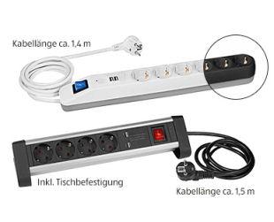Easy Home USB-Steckdosenleiste