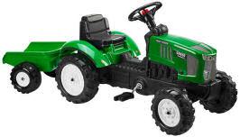 Falk Tret-Traktor mit Anhänger