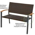 Gardenline Geflecht-Gartenbank im Angebot bei Aldi Süd 20.5.2020 - KW 21