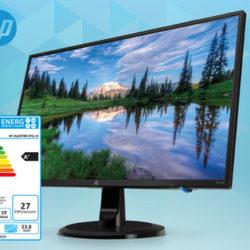 HP 24y Monitor mit 23,8-Zoll im Angebot » Hofer 31.1.2019 - KW 5