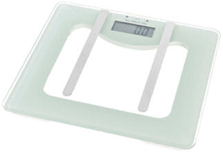 Liv & Bo Digitale Körperfettwaage mit Sicherheitsglas