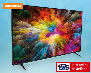 Medion Life X16508 65-Zoll Ultra-HD Smart-TV