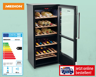 Medion Weintemperierschrank MD 37104
