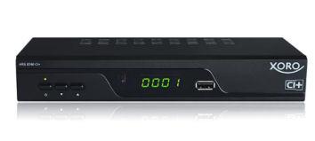 Real: Xoro HRS 8760 HD-DVB-S2 PVRready Receiver ab 28.1.2019 erhältlich