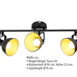 Casalux Retro-LED-Deckenleuchte: Aldi Süd ab 28.2.2019 - KW 9
