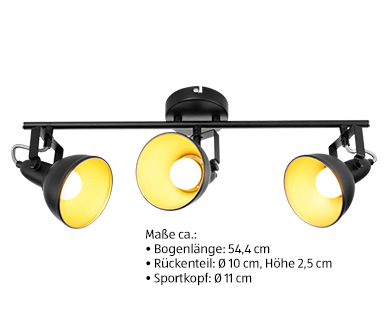 Casalux Retro-LED-Deckenleuchte