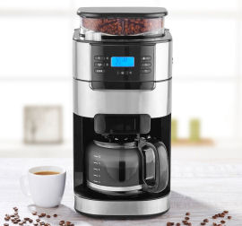 HOME IDEAS COOKING Kaffeemaschine mit Mahlwerk