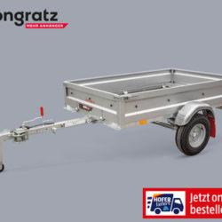 Hofer 24.10.2019: Pongratz Faltbarer PKW-Anhänger im Angebot