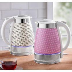 Norma » PowerTec Kitchen LED-Keramik-Wasserkocher 2200 Watt im Angebot » 4.3.2019 - KW 10