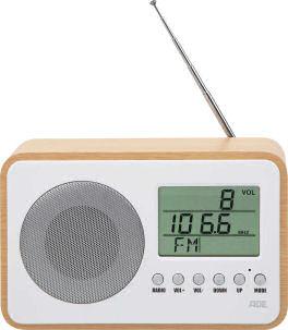 ADE Uhrenradio BR1705