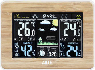 ADE Wetterstation WS 1703