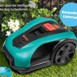 Aldi Süd 28.3.2019: Bosch Indego 400 Connect Mähroboter im Angebot