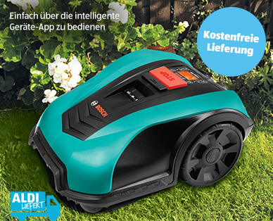 Bosch Mähroboter Indego 400 Connect