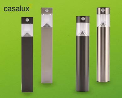 Casalux Solargartenleuchte mit Bewegungssensor