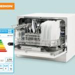 Hofer 17.6.2019: Medion Tisch-Geschirrspüler MD 37227 im Angebot