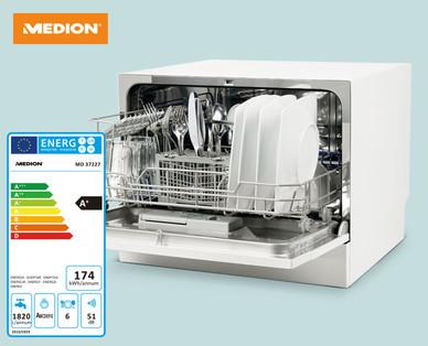 Medion MD 37227 Tisch-Geschirrspüler im Hofer Angebot ab 17.6.2019