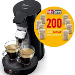 Philips HD 6561/69 Volks.Senseo Kaffee-Padautomat: Real Angebot ab 1.4.2019 - KW 14