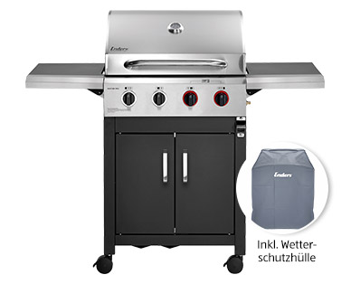 BBQ Gasgrill Boston Pro 4 Turbo II