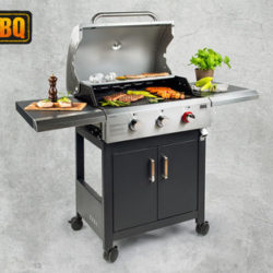BBQ Gasgriller Boston Pro 3 Turbo: Hofer Angebot ab 8.4.2019 - KW 15