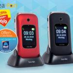 Hofer 28.10.2019: Bea-Fon SL590 Mobiltelefon im Angebot