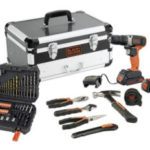 Black & Decker BCD001BAHFC Akku-Bohrschrauber im Angebot bei Real 23.3.2020 - KW 13