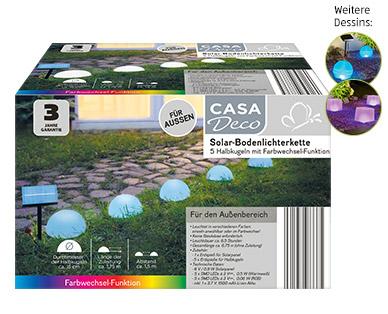 Casa Deco Solar-Bodenlichterkette im Aldi Süd Angebot ab 29.4.2019