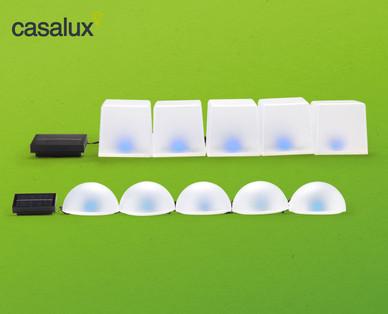 Casalux Solar-Bodenlichterkette