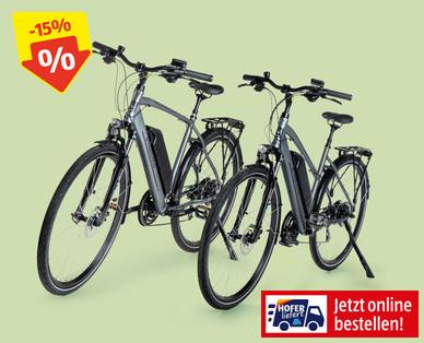 Damen-/Herren-E-Trekkingbike 28-Zoll im Angebot bei Hofer ab 14.8.2019