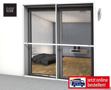 Hecht 101390101-VH Fliegengitter Schiebet/ür Einzelelement 120x240cm weiss