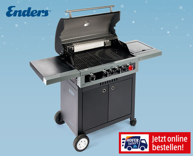 Photo of Hofer 6.4.2020: Enders Boston Black 4 IK Turbo Gasgrill im Angebot