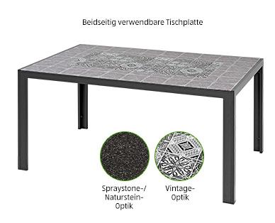 Gardenline Aluminium-Glastisch