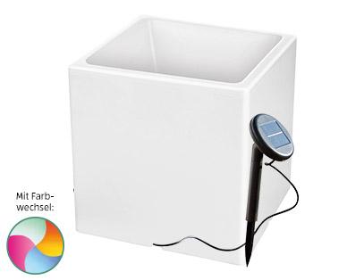 Gardenline LED-Solar-Blumentopf