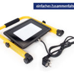 Hofer 11.4.2019: Workzone Faltbarer LED-Baustrahler im Angebot