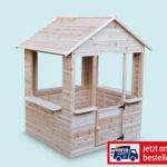 Kinderspielhaus aus Holz im Angebot bei Hofer 4.6.2020 - KW 23