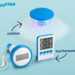 Hofer 23.5.2019: Poolstar Pool-Thermometer und Pool-Lichtshow im Angebot
