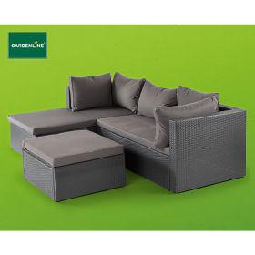 Eck-Sitzmöbel Rattan