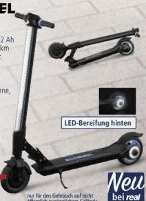 Koowheel E-Scooter L8: Real Angebot ab 9.9.2019 - KW 37