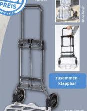 Photo of Workzone Vollklappbare Transportkarre im Angebot » Aldi Nord 20.8.2020 – KW 34