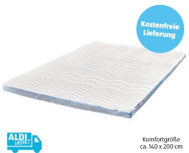 Dormia Deluxe-Matratzen-Topper Komfortgröße im Aldi Süd Angebot 29.7.2019 | KW 31