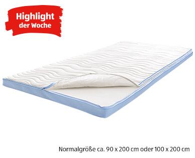 Dormia Deluxe-Matratzen-Topper Normalgröße als Aldi Süd Highlight ab 29.7.2019 | KW 31