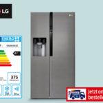 LG GSL361ICEZ Side-by-Side Kühlschrank im Angebot bei Hofer 4.6.2020 - KW 23